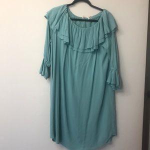 Soft Surroundings blue dress size large
